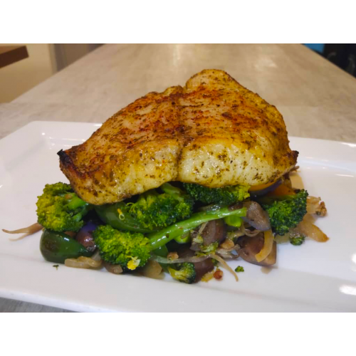 COMMONFOLKS Dory Fish with Vegetables Healthy Meal